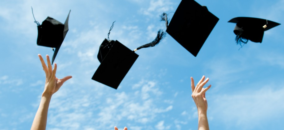 mortar boards air